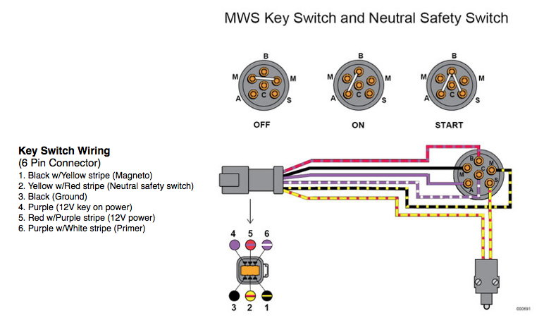 new_key_switch_wiring 4 wire key switch diagram 4 way switch wiring diagram variations mercontrol wiring diagram at mifinder.co