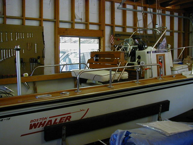 Here is what the dealer installed on my Outrage 18' before the original ...