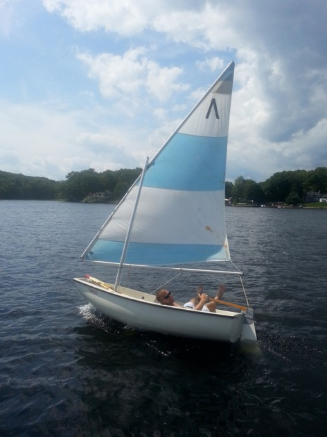 Image result for boston whaler squall sail