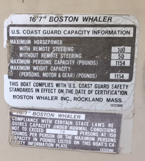 What year and model is my Whaler 13? Page: 1 - iboats ...